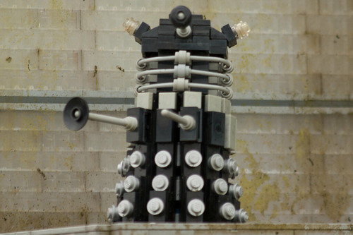 Medium-sized Lego Dalek