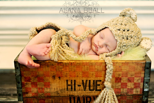 Baby boy newborn photography by Vanity's Edge / Alana Beall
