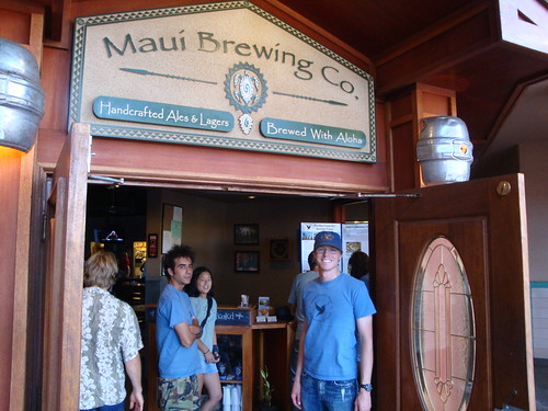 A fundraiser night at the Maui Brewing Company.