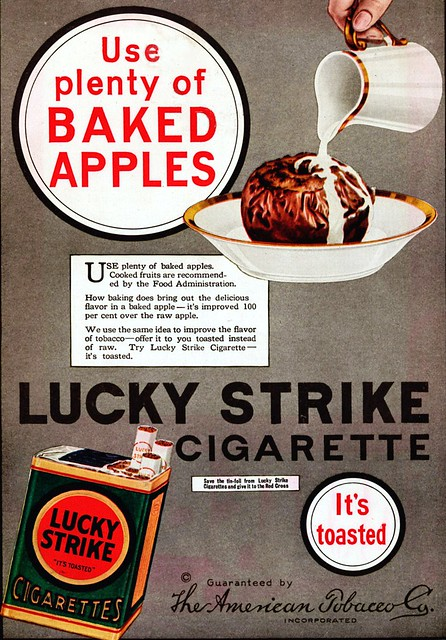 1940s - Lucky Strike and Apples