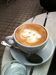 Chilean latte art