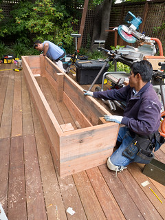 Day 13: Planter box construction III | by docrpm