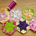 English Paper Piecing tutorial for Hexalong!