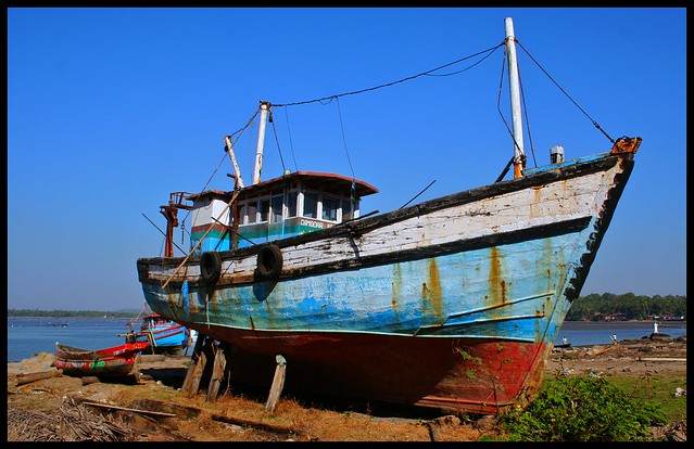 Boat neglected? Goa.