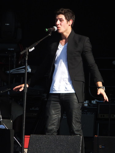 Nick Jonas at Ottawa Bluesfest 2011