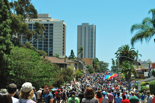 San Diego Pride Parade, 6th Ave.