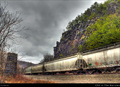 CSX In The Narrows