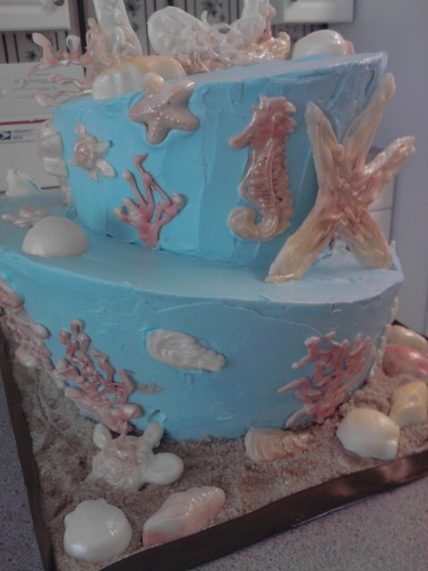 Cake By The Ocean Artinya : Ocean Theme Birthday Cake Flickr - Photo Sharing!