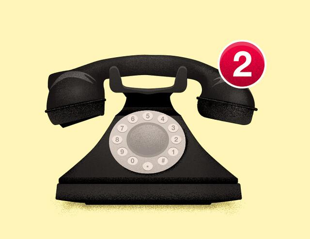 iPhone、通知センターに表示&アイコンにバッジを表示とは?