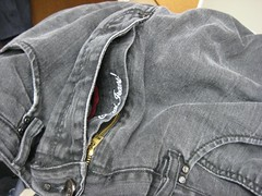 Jean Zipper with Extra Fly