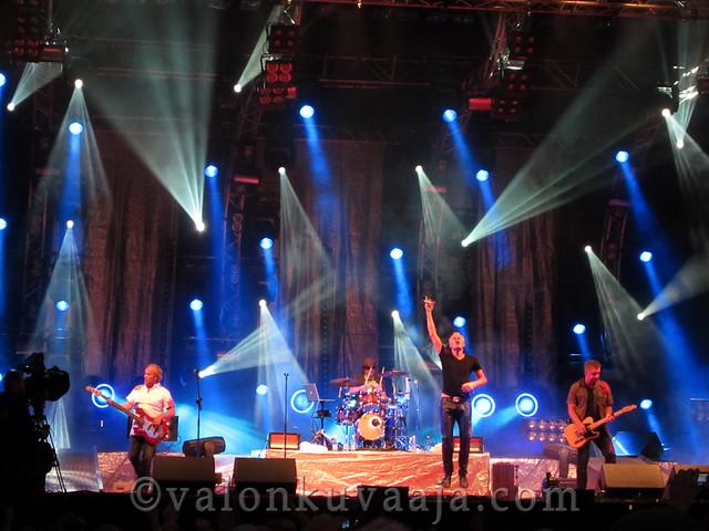 Ilosaarirock 2011 - Neljä ruusua