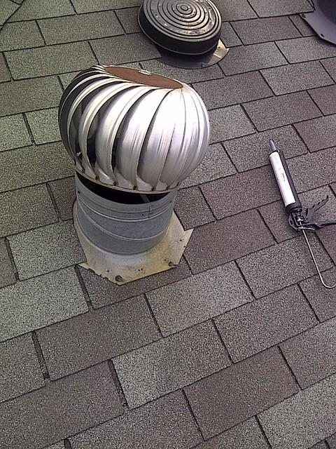 Kitchen Exhaust Vent Install Mr Roof Repair Flickr
