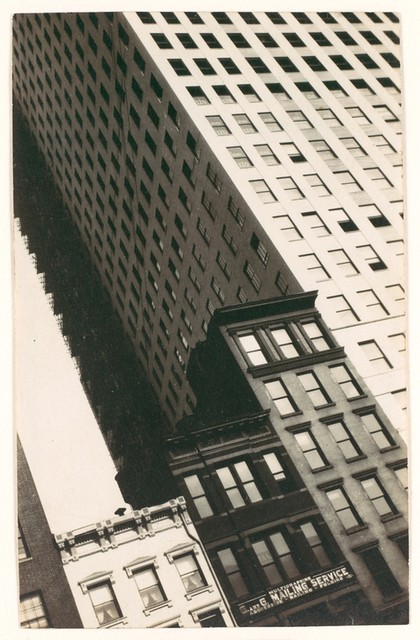 Buildings, New York, 1928-29, by Walker Evans