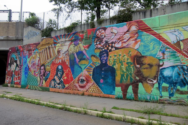 Wilkinsburg mural flickr photo sharing for Mural z papiezem franciszkiem