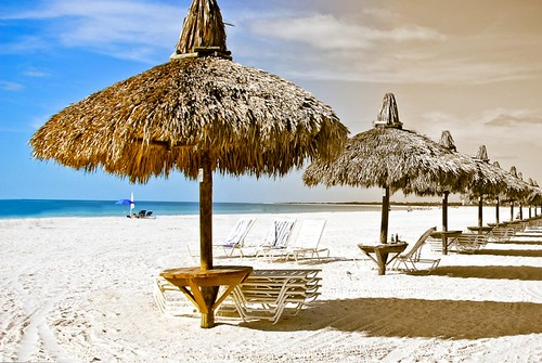 landscapes florida beaches umbrellas photoart marcoisland 1802000mmf3556