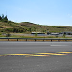 Wheatland express bus lot Pullman Washington