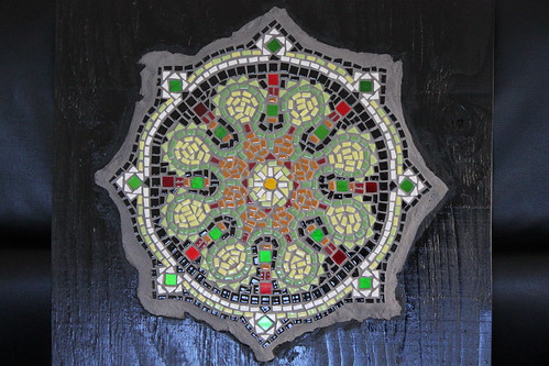 new tile mandala project.