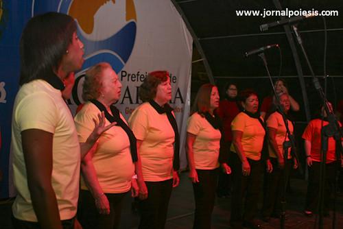 Coral Vozes de Saquarema é um dos participantes