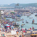 Fish market at Elmina