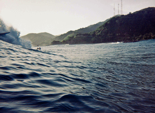 El Rio, Los Caracas, Surf Session under water lomography
