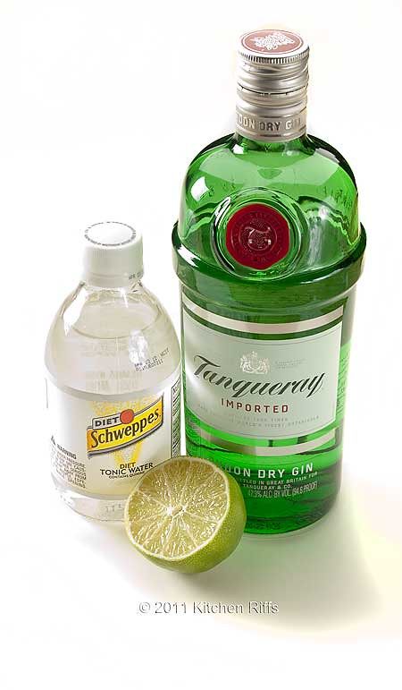 Kitchen riffs gin and tonic for Best mix with gin
