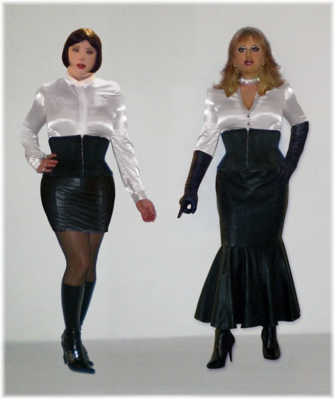 Blouse And Skirt Dress