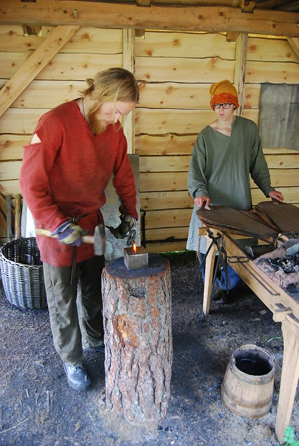 Vikingos en Gudvangen