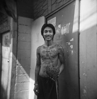 Young man withTattoos