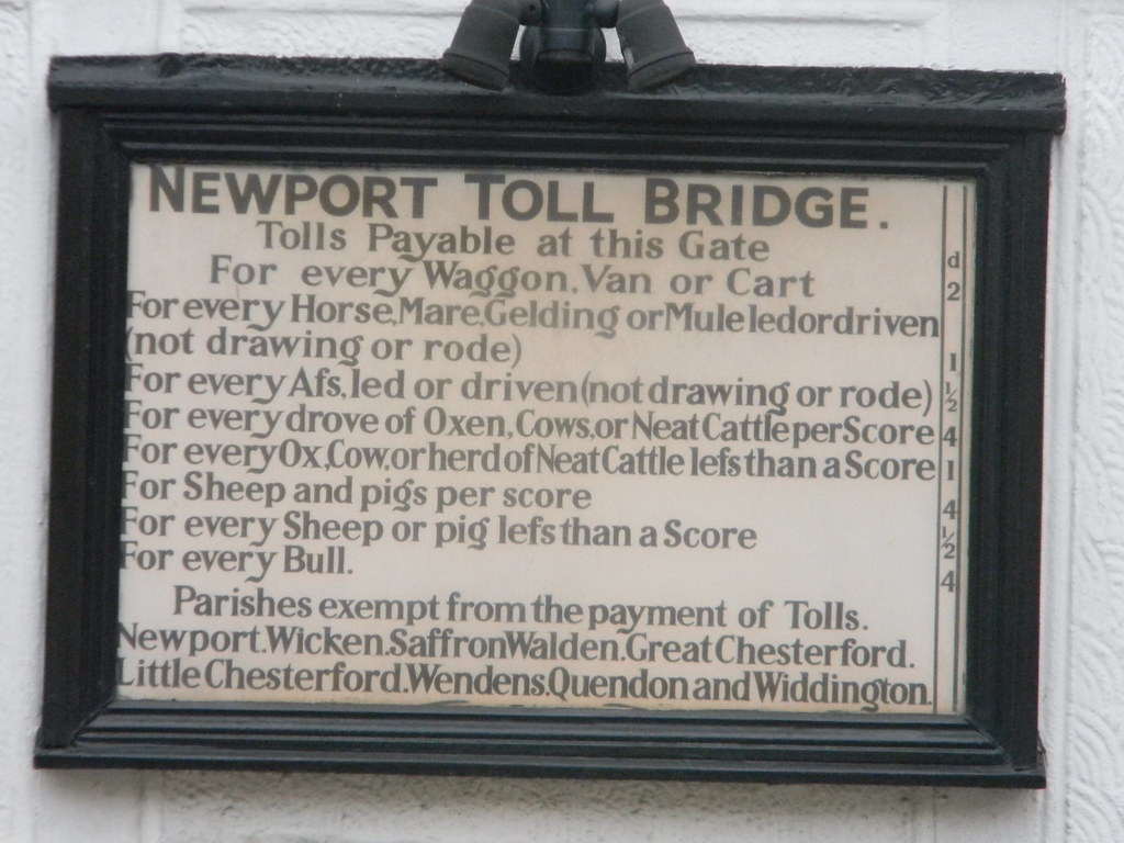 Newport Tolls Great Chesterford to Newport