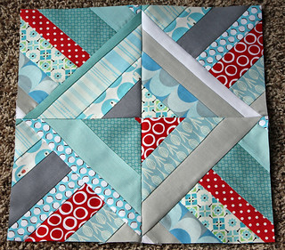 october Sew Modern Block