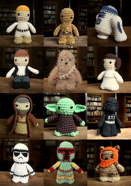 Free Star Wars Crochet Amigurumi Patterns : crochet star wars Flickr - Photo Sharing!