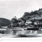 029 Struden mit Ruine Werfenstein 1850 [1024x768]