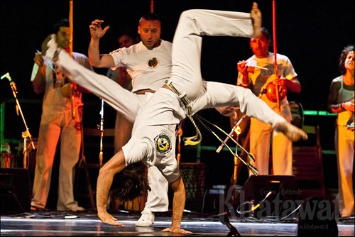 Capoeira Notte verde