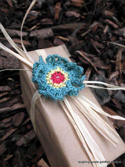 floral gift embellishment 4