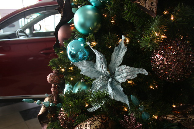 tiffany blue chocolate brown christmas decorations