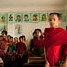 Shy Girls in Classroom - Nalbata, Bangladesh