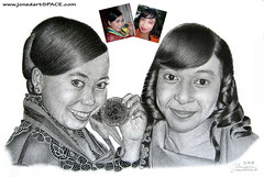 Anggun-Ayun-graphite-female-portrait-drawing-by-Joned-Rahadian