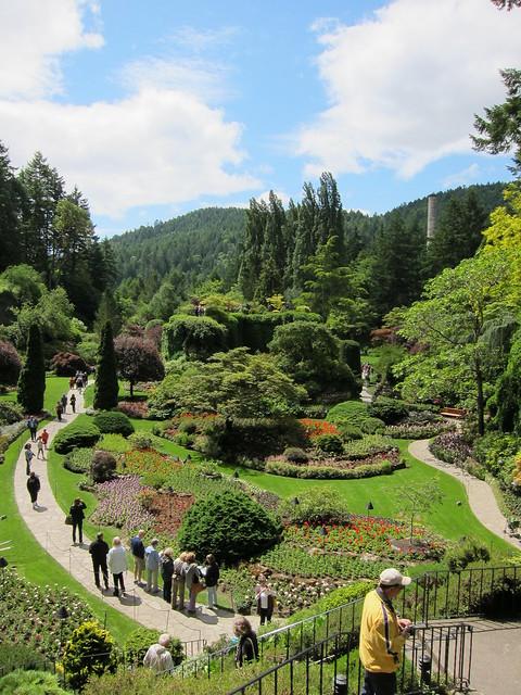 Buchart Gardens by CC user phillipstewart on Flickr