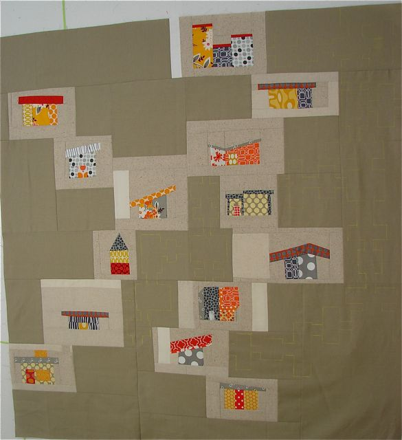 anyone familiar with mid century house quilts