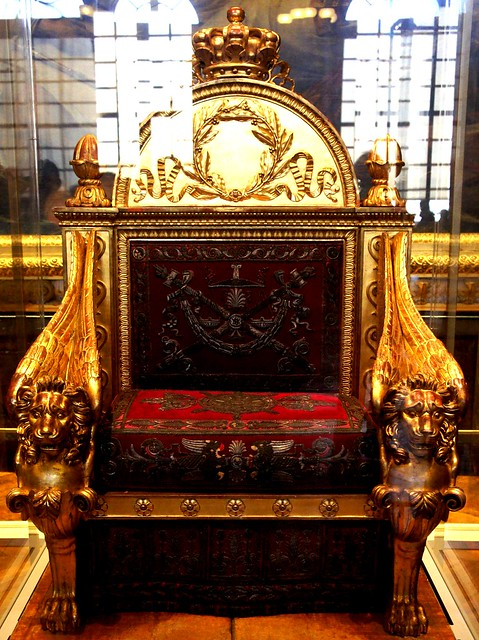 Ornate Throne at Versailles