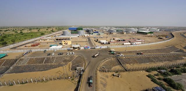 Mangala Processing Terminal, Barmer, Rajasthan