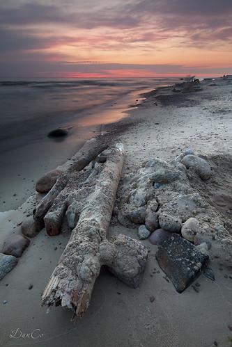 sunset sea stones baltic sigma1020mmf456exdchsm karkle canoneos50d mygearandme hitechreversendgradfilter