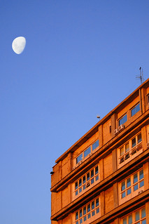 Luna sobre la Facultad // Moon over Faculty