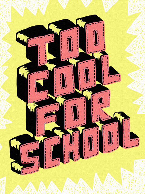 Too Cool For School Flickr Photo Sharing