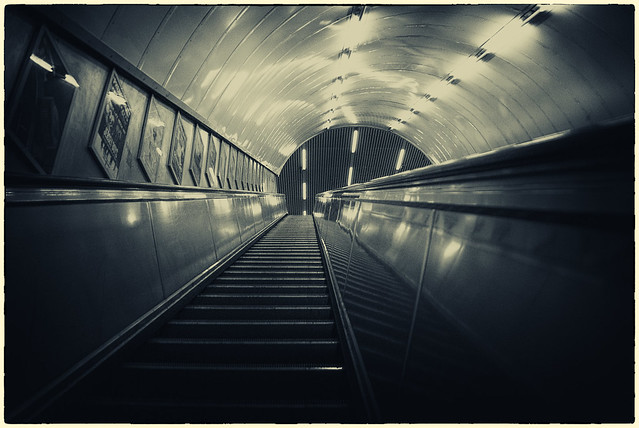 Photo of the Day: London Metro Escalator