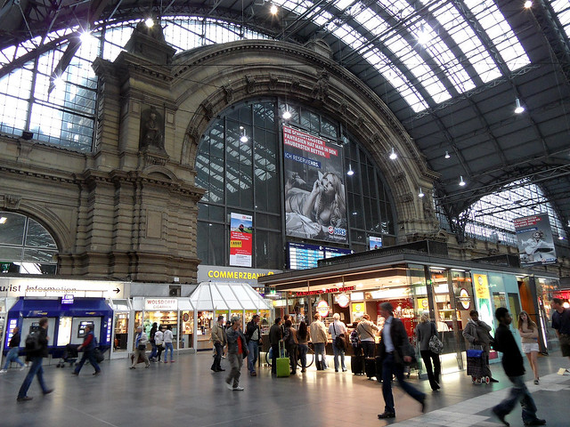 Frankfurt Hauptbahnhof Train Station Car Rental Car Hire