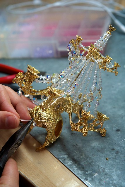 How the Chandelier crown was made