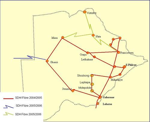 Botswana - Trans-Kalahari Fibre Backbone
