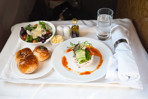 Emirates Business Class Dinner (Appetizer)