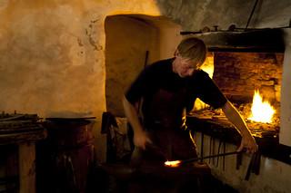 Image of Varberg Fortress. travel nikon sweden blacksmith fortress varberg 2011 fästning smed d700 kartläsarn kartlasarn göranhöglund nikkorafs14g